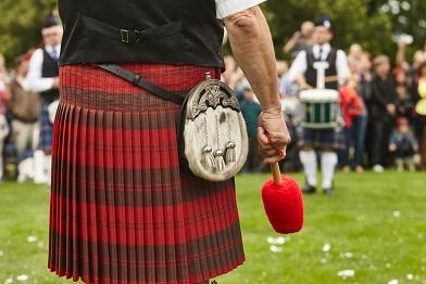 Rande skotská žena